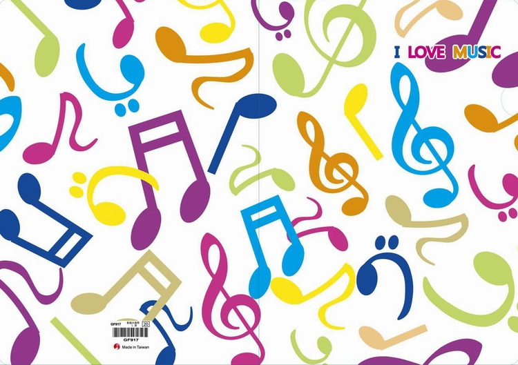 > 产品内容介绍 >  ◎彩色大音符l夹 ◆经典设计,生动活泼可爱音乐